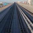 Ride with Dubai Metro — Stock Video
