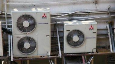 Trzy jednostki stanu powietrza — Wideo stockowe