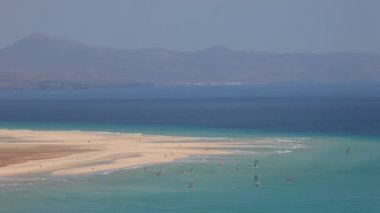 Beach on Canary Island Fuerteventura — Stock Video