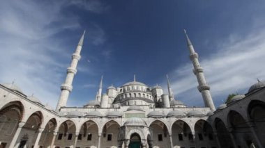Blue Mosque in Istanbul, Turkey — Stock Video