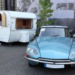 DUSSELDORF - SEPTEMBER 4: Legendary Citroen DS at the Caravan Salon Exhibition 2013 on September 04, 2013 in Dusseldorf, Germany. — Stock Photo