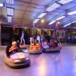 Bumper cars for kids — Stock Video
