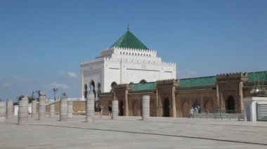 Mausoleum of Mohammed V in Rabat, Morocco — Stock Video