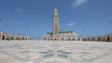 Mosque of Hassan II in Casablanca, Morocco — Stock Video
