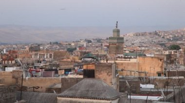 Medina in Fes, Morocco, North Africa — Stock Video