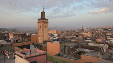 Medina Of Fes, Morocco — Stock Video