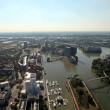 City of Dusseldorf as seen from the Rheinturm (Rhine tower), Germany — Stock Photo #31275483