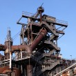 Industrial ruin in Duisburg, Germany — Stock Photo