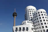 Futuristic buildings in Dusseldorf, Germany — Stock Photo