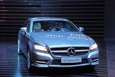 International Motor Show in Frankfurt, Germany. Mercedes Benz CLS Shooting Brake at the 65th IAA in Frankfurt, Germany on September 17, 2013 — Stock Photo