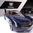 Stock Photo: International Motor Show in Frankfurt, Germany. Cadillac Elmiraj at 65th IAin Frankfurt, Germany on September 17, 2013