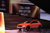 International Motor Show in Frankfurt, Germany. Mercedes Benz GLA at the 65th IAA in Frankfurt, Germany on September 17, 2013 — Stock Photo