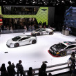 International Motor Show in Frankfurt, Germany. Lamborghini, supercars at the 65th IAA in Frankfurt, Germany on September 17, 2013 — Stock Photo