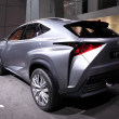 Stock Photo: International Motor Show in Frankfurt, Germany. Lexus LF-NX Concept SUV at 65th IAin Frankfurt, Germany on September 17, 2013