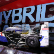 International Motor Show in Frankfurt, Germany. Toyota TS030 Hybrid racing car at the 65th IAA in Frankfurt, Germany on September 17, 2013 — Stock Photo