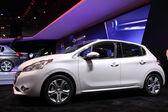 International Motor Show in Frankfurt, Germany. Peugeot 208 at the 65th IAA in Frankfurt, Germany on September 17, 2013 — Stock Photo