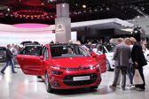 International Motor Show in Frankfurt, Germany. Citroen presenting the new C4 Picasso at the 65th IAA in Frankfurt, Germany on September 17, 2013 — Stock Photo