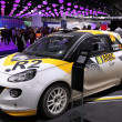 International Motor Show in Frankfurt, Germany. Opel Adam Racing Car at the 65th IAA in Frankfurt, Germany on September 17, 2013 — Stock Photo