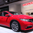International Motor Show in Frankfurt, Germany. Honda Civic at the 65th IAA in Frankfurt, Germany on September 17, 2013 — Stock Photo