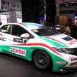 Stock Photo: International Motor Show in Frankfurt, Germany. HondCivic Racing Car at 65th IAin Frankfurt, Germany on September 17, 2013