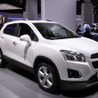 Stock Photo: International Motor Show in Frankfurt, Germany. Chevrolet Trax at 65th IAin Frankfurt, Germany on September 17, 2013