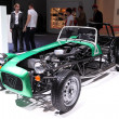 Stock Photo: International Motor Show in Frankfurt, Germany. Caterham Seven 165 at 65th IAin Frankfurt, Germany on September 17, 2013