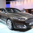 Stock Photo: International Motor Show in Frankfurt, Germany. Ford Vignale at 65th IAin Frankfurt, Germany on September 17, 2013