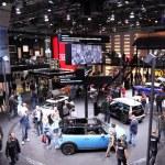 International Motor Show in Frankfurt, Germany. MINI Stand at the 65th IAA in Frankfurt, Germany on September 17, 2013 — Stock Photo