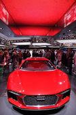 International Motor Show in Frankfurt, Germany. Audi Nanuk Quattro at the 65th IAA in Frankfurt, Germany on September 17, 2013 — Stock Photo