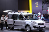 International Motor Show in Frankfurt, Germany. Opel Combo at the 65th IAA in Frankfurt, Germany on September 17, 2013 — Foto Stock