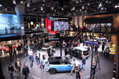 International Motor Show in Frankfurt, Germany. MINI Stand at the 65th IAA in Frankfurt, Germany on September 17, 2013 — Stock Photo