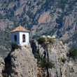 Stock Photo: Belltower in Guadalest, Spain