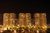 жилых зданий в городе — Стоковое фото