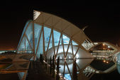 City of the Arts and the Sciences, Valencia Spain — Stock Photo