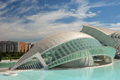 L'Hemisferic in the City of Arts and Sciences in Valencia, Spain — Stock Photo