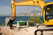 Construction site in Benidorm — Stok fotoğraf