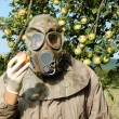 Man in gas mask — Stock Photo #32002241