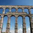 Roman Aqueduct in Segovia, Spain — Stock Photo