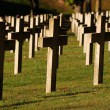 Stock Photo: Soldiers cemetery in Montauville, France