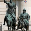 Spain Square, Madrid, Don Quijote and Sancho Panza — Stock Photo #32009557