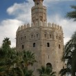 Torre del Oro - the gold tower in Seville, Spain — Stock Photo