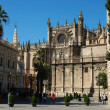 Cathedral of Saint Mary of the See, Sevilla, Spain — Stock Photo