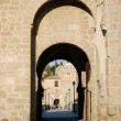 Gate into the old town of Toledo, Spain — Stock Photo