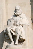 Miguel de Cervantes Statue in Madrid, Spain — Stock Photo