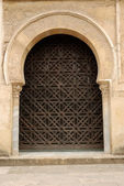 Arched doorway in Cordova, Spain — Stock Photo