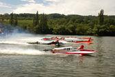 Powerboat Race — Stock Photo