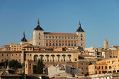 View over the old town of Toledo, Spain — Stock Photo