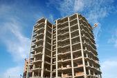 Wolkenkrabber bouwplaats — Stockfoto