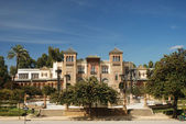 Belo edifício em sevilla, espanha — Foto Stock