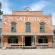 Stock Photo: Saloon in old Americwestern town